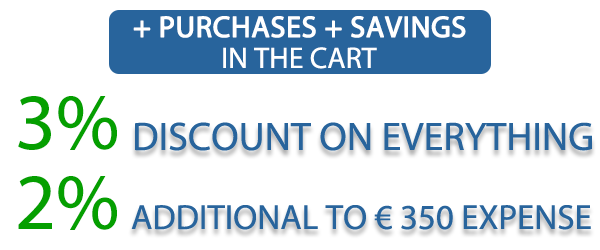 IDEALUCE extra DISCOUNT in the cart